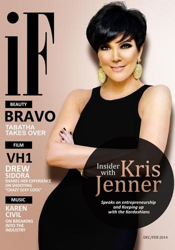 digital magazine cover